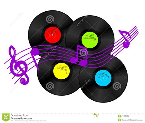 Free Records Vinyl Record Royalty Free Stock Photo Image 27195475
