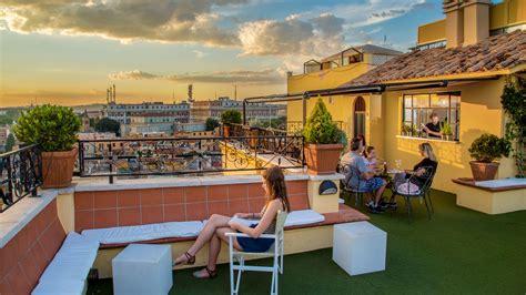 bar terrazza roma hotel colosseum roma foto