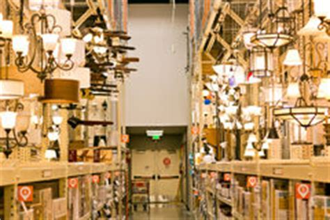 ls and lighting fixtures in the store editorial image