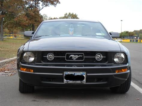 pony package 2007 mustang v6 pony package grille the mustang source ford mustang