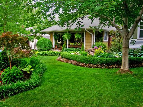 bungalow landscape traditional landscape kansas city