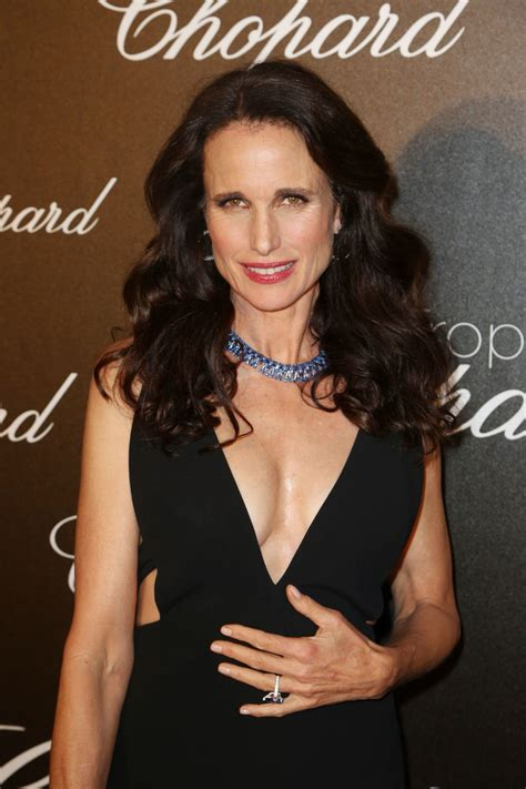 andie macdowell photos purepeople andie macdowell at chopard trophy event in cannes 05 22