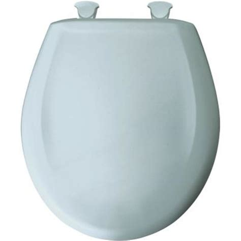 bemis closed front toilet seat in blue mist 200slowt