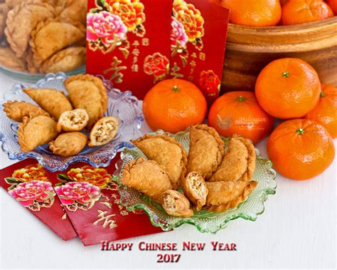 new year food abundance kok chai mini peanut puffs malaysian kitchen