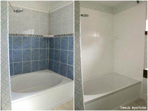 respray bathroom tiles comment peindre ou repeindre une douche 6 233 tapes simples