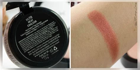 Frame Swatch 8185 nyx single eyeshadow heat swatch all about swatches nyx eyeshadow