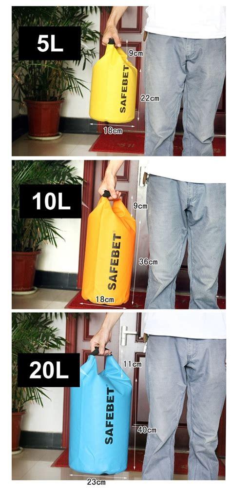 Bag 5 Liter Biru bag waterproof backpack tas waterproof gratis ongkos