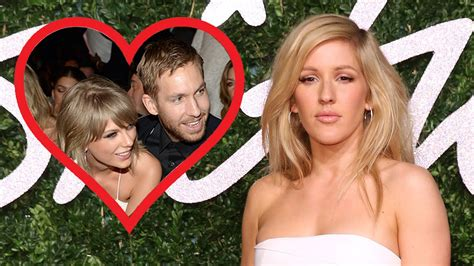 ellie goulding boyfriend calvin harris www imgkid com ellie goulding played matchmaker for taylor swift and