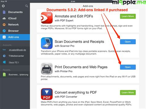 5 add ons documents 5 by readdle add ons miapple me