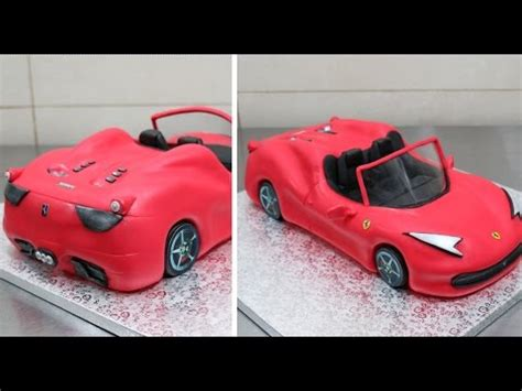 kuchen auto anleitung how to make a 3d cake by cakesstepbystep