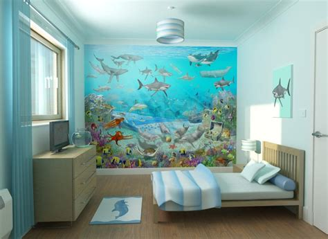 kids theme bedrooms ocean themed room for kids room decorating ideas home