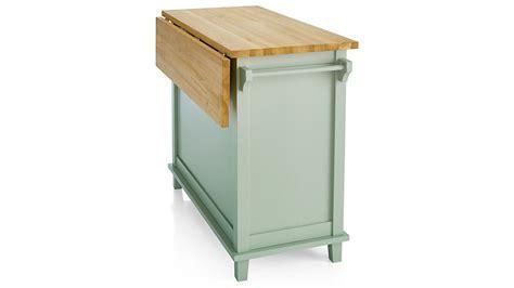 Belmont Mint Kitchen Island   Crate and Barrel
