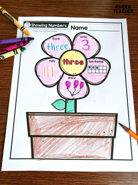 Ways To Make A Number Worksheet