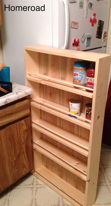 Diy Slide Out Pantry by Diy Slide Out Pantry