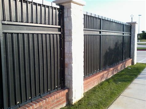 privacy screen for fence metal fence privacy screen peiranos fences ideas for fence privacy screen