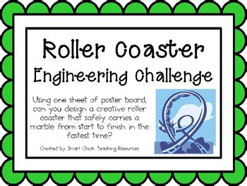 roller coaster engineering challenge project great stem activity roller coaster coasters
