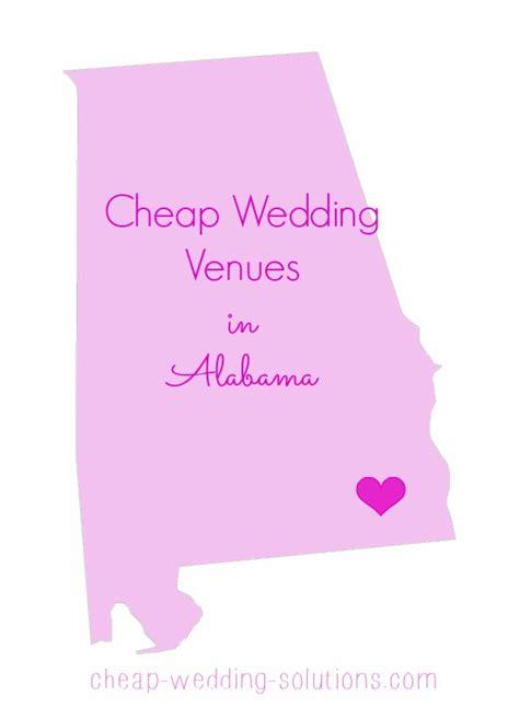 cheap alabama wedding venues