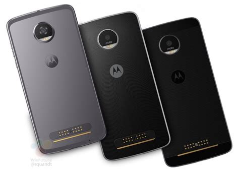 Moto Z2 Moto Z2 And Moto Z2 Play Leaked Image Reveals Front