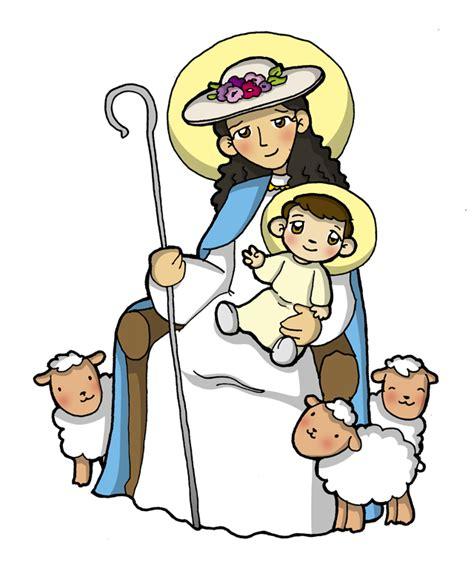 imagenes de virgen la pastora para colorear divina pastora dibujos para catequesis madre del buen pastor divina pastora