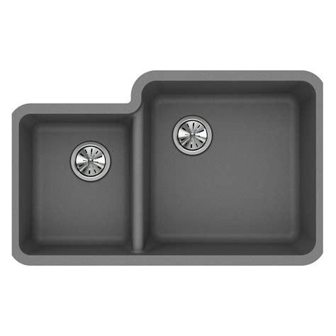 quartz undermount kitchen sinks elkay quartz classic undermount composite 33 in double