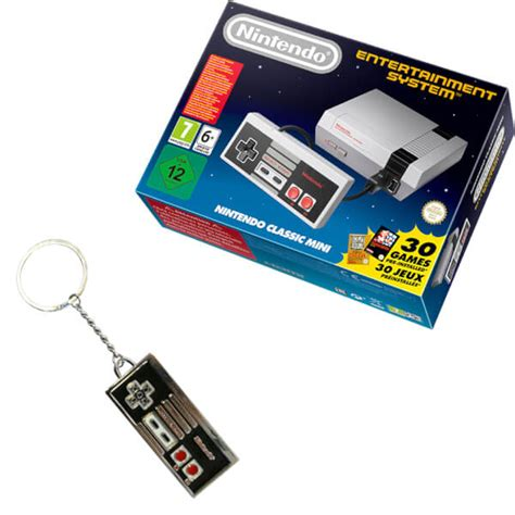 hardware review nes classic mini nintendo entertainment system nintendo nintendo classic mini nintendo entertainment system nes controller keychain nintendo