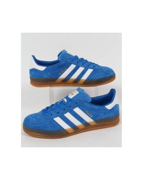 adidas gazelle indoor adidas gazelle indoor trainers bluebird blue white
