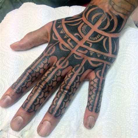 40 tribal hand tattoos f 252 r m 228 nner manly ink design ideen