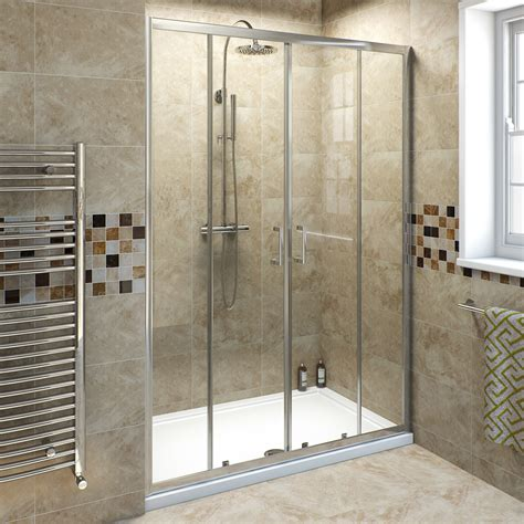 sliding glass shower tub doors 6mm sliding shower door 1400mm victoriaplum