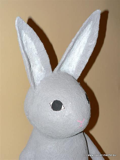 Easter Rabbit Bunny Paper Mache - papier mache gallery by joanna jedrzejewska zwierz苹ta