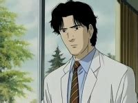 Kenzo Black Eye Kaos Putih chara yang memakai baju putih dokter prof dll yahoo