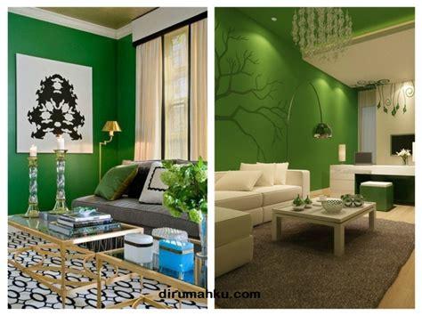 desain interior ruang tamu warna biru desain ruang tamu warna hijau dirumahku com