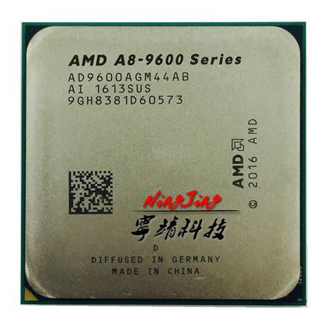 Processor Amd A8 9600 3 1ghz Up To 3 4ghz Bristol Ridge Diskon amd a8 series a8 9600 a8 9600 3 1 ghz 65w cpu processor ad9600agm44ab socket am4 in