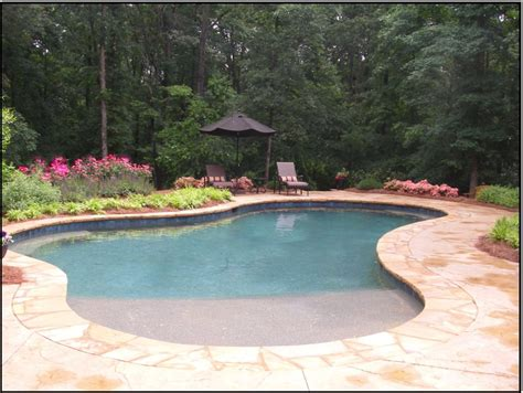 Swimming Pool Design Classic Traditional Modern Natural Entry Swimming Pool Designs