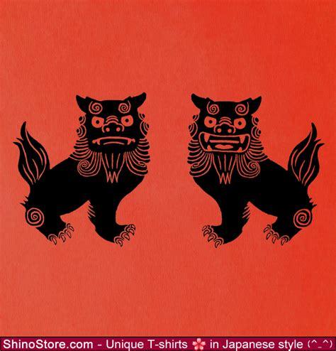 shisa tattoo shisa okinawa lions design by shinostore okinawa