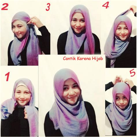 tutorial hijab simple segitiga paris tutorial hijab paris segi empat simple dan modis