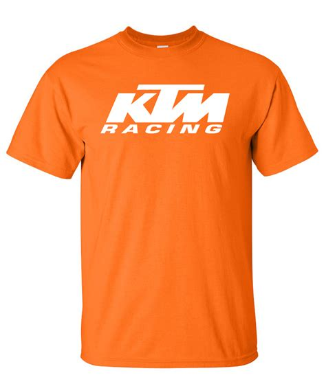 Ktm Tshirts Ktm Racing Logo Graphic T Shirt Supergraphictees