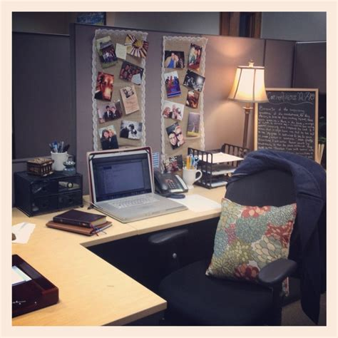 cubical ideas cubicle decor burlap hot glued to lace with clothespins