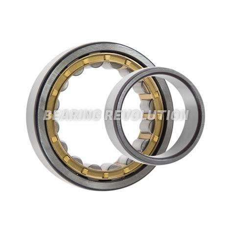 nj 2315 e c3 nj series cylindrical roller bearing with a 75mm bore plastic cage premium