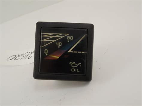 boat gauges square faria bayliner oil pressure gauge 2 3 8 quot square
