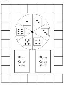primary flynn blank game boards game board templates