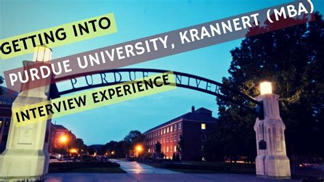Getting Into A Top Mba Program by Getting Into Top Mba Programs Purdue Krannert