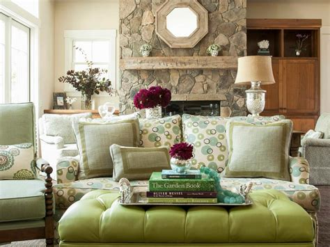 Green Living Room Furniture - design with multipurpose furniture hgtv