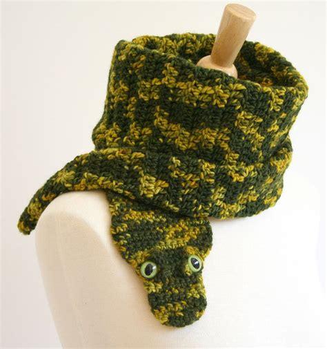 animal scarf crochet patterns ooak animal scarves make