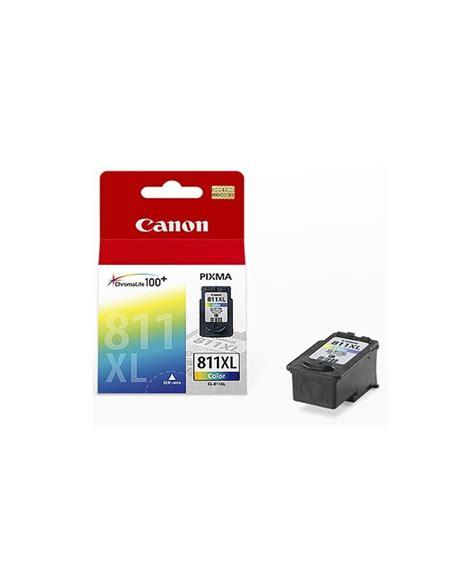 Tinta Canon Cl 811 Colour Compatible Gred A Kw 1 Bergaransi canon cl 811 xl ink cart colour 2979b001aa