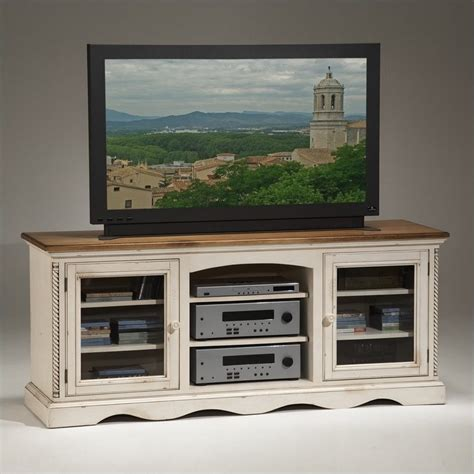 White Tv Cabinets by Hillsdale Wilshire Plasma Lcd White Tv Stand Ebay