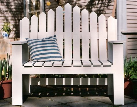 picket fence bench picket fence bench 28 images lot detail garden bench