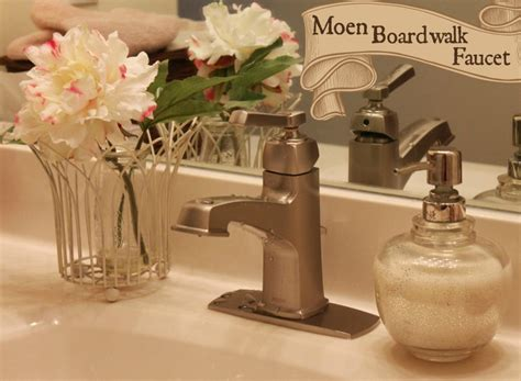 moen boardwalk kitchen faucet update your bathroom with a new moen boardwalk faucet