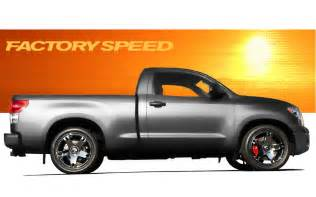 Toyota Tundra Trd Supercharged Motive Club Shows Rendering Of Supercharged Quot Factory Speed