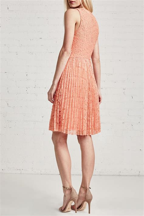 bailey 44 pleated skirt lace dress from chicago by notice