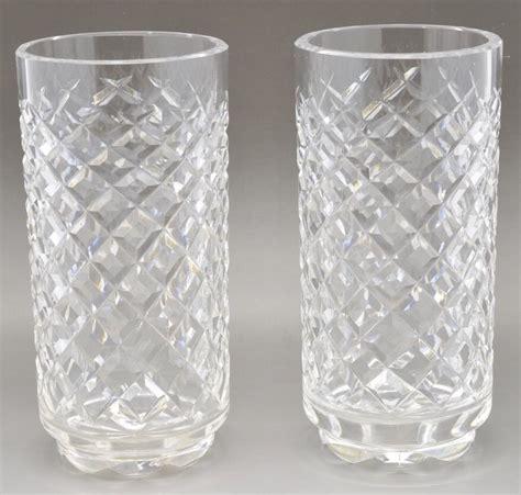 vintage waterford crystal wine glasses alana by vintage pair of waterford crystal alana pattern footed